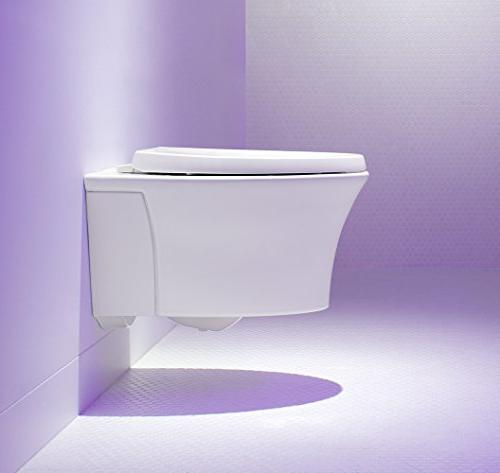 KOHLER with Grip-Tight Bumpers Elongated Toilet Seat