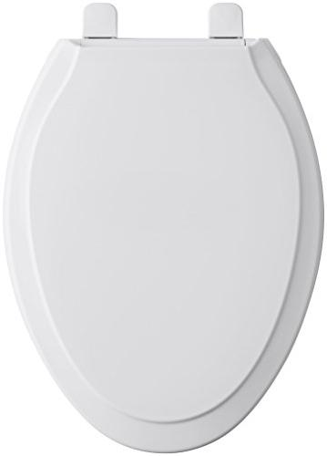 KOHLER K-4734-0 Rutledge White Toilet with Grip-Tight Quick-Release No Seat