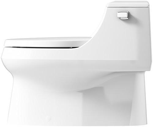 Remarkable Kohler K 3722 0 San Raphael One Piece Elongated 1 28 Gpf Dailytribune Chair Design For Home Dailytribuneorg