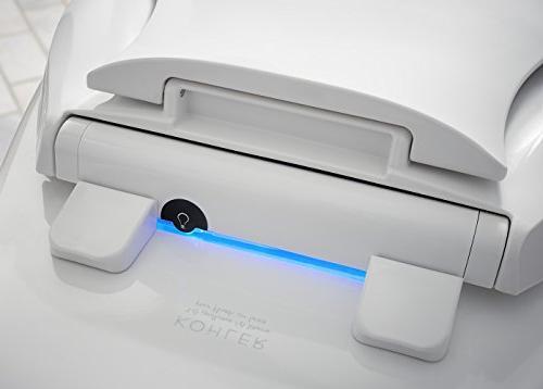 KOHLER K-2599-0 Transitions Nightlight Toilet White