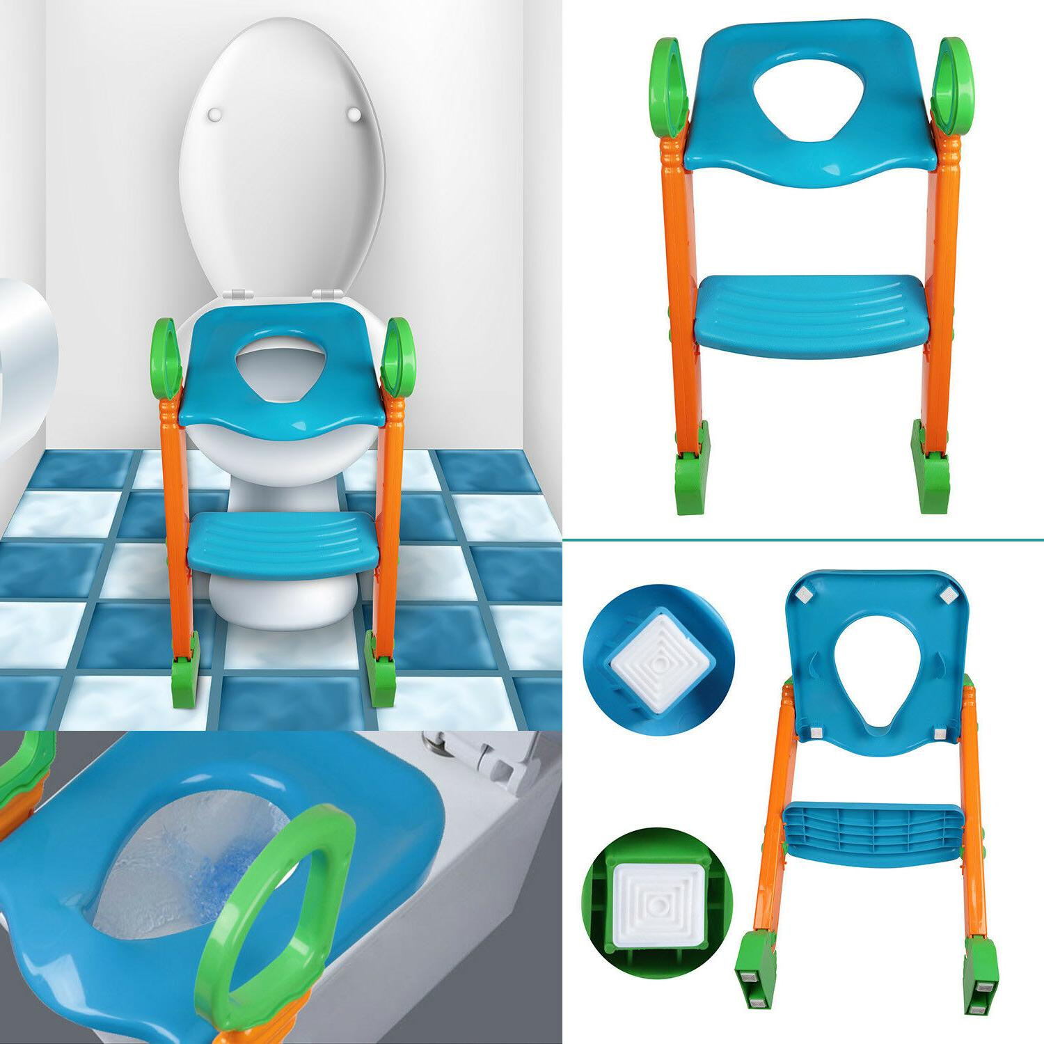 Kids Potty with Step Ladder for Chair