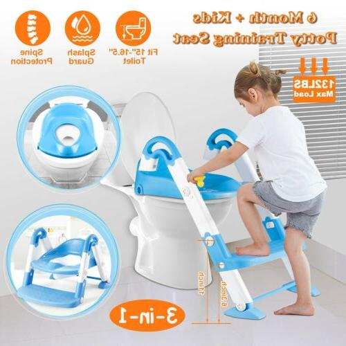 Kids Training Seat with for Toilet Chair