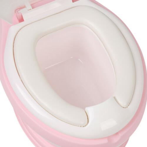 Kids Potty Training Toddler Girl Seat Bathroom