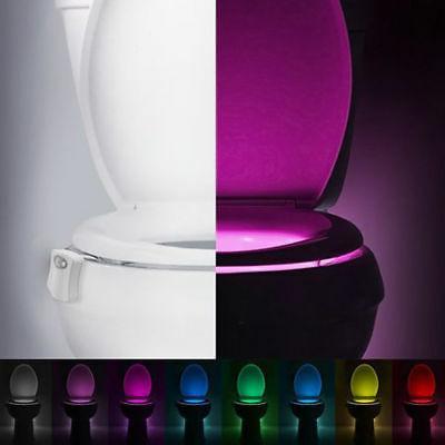 LED Motion Light Seat Colors Sensing Automatic Bathroom