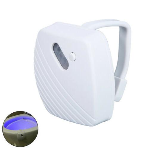 LED Toilet Light IR Sensor 24 Colors Glow Lavatory Toilet Bo