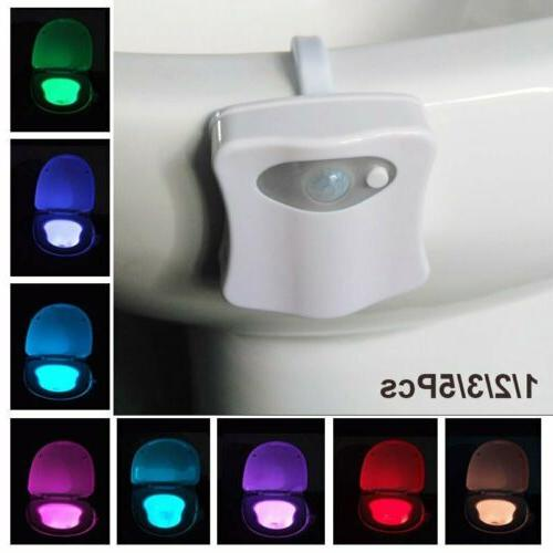 Led Toilet 8 LED Auto Sensing Lamp