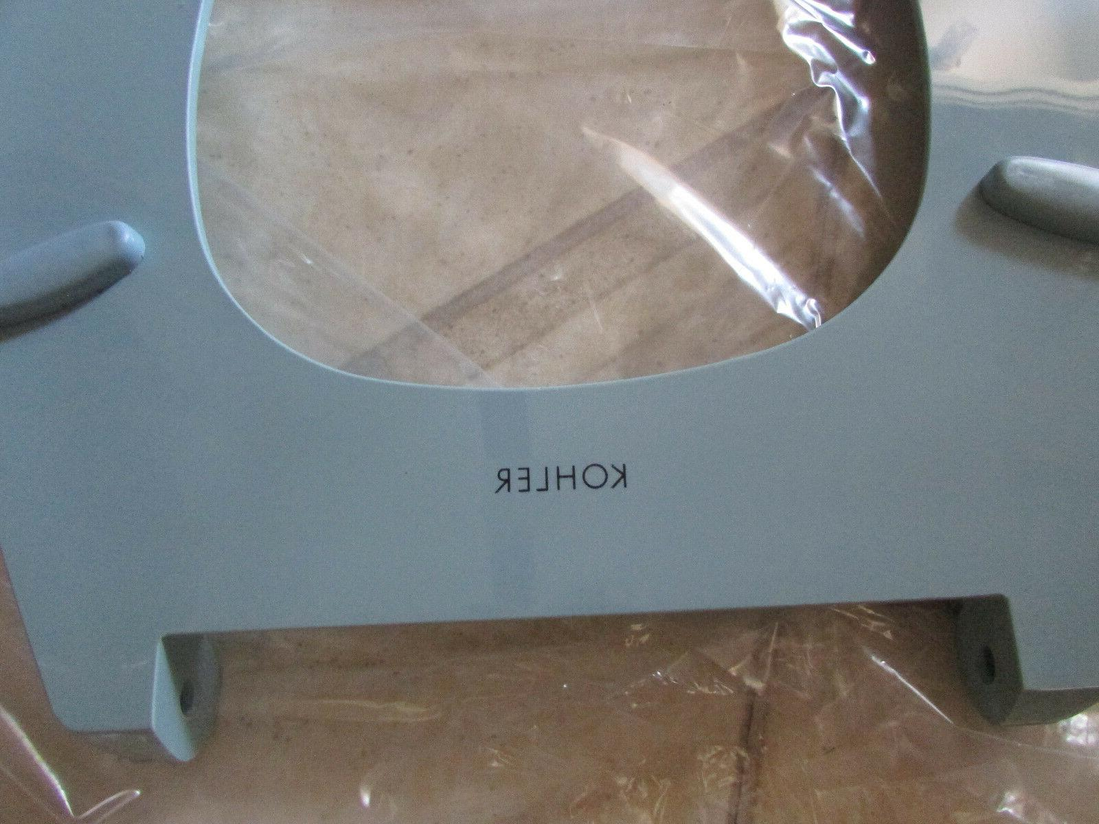 Kohler Lustra Toilet Seat Chrome Plated 4691