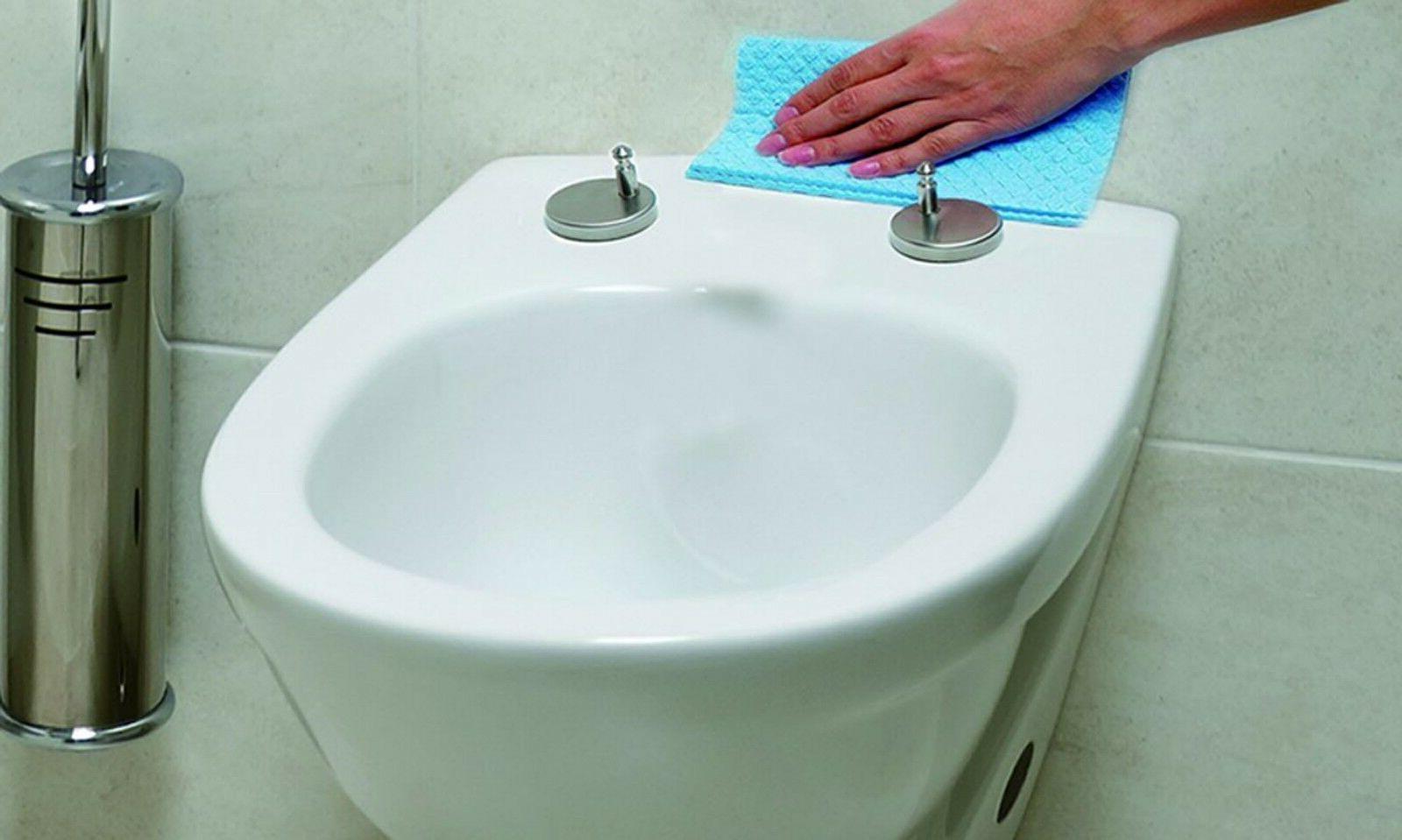 LUXURY SLOW WHITE BATHROOM SEAT WITH HINGES