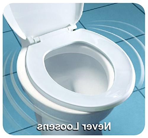 Molded Wood Toilet With Brushed Round, Bemis Mfg