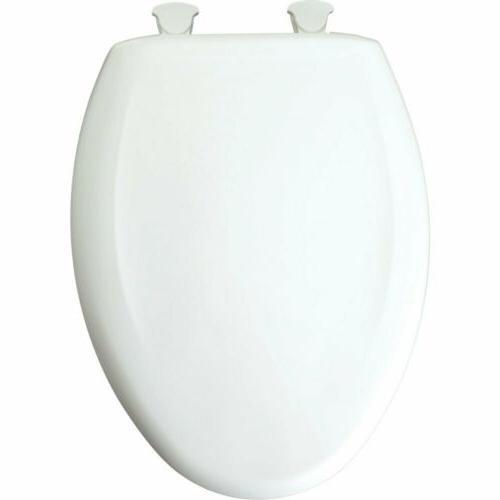 Bemis Mayfair Elongated White Close No Slam Toilet Seat