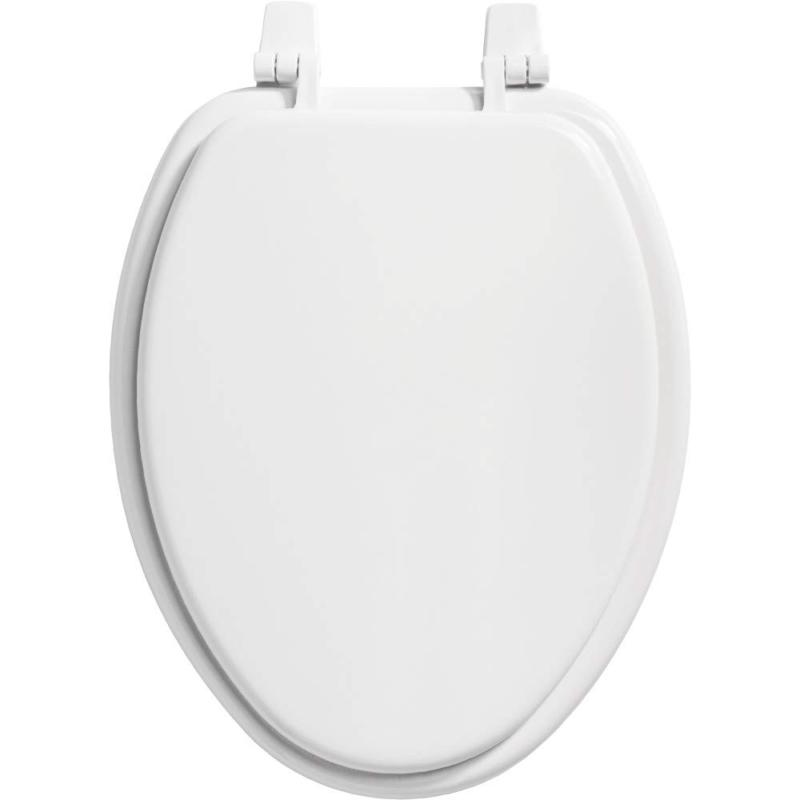 Bemis Wood Elongated Toilet Plastic Close Slow Durable