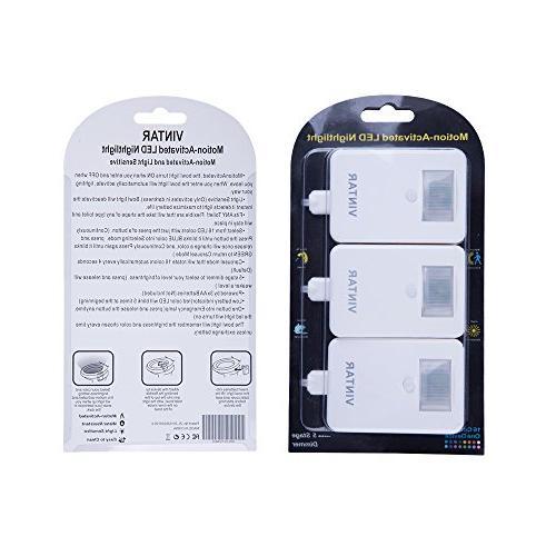 Sensor LED Toilet Night Light, Dimmer, Detection,Best Present
