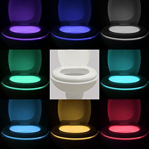 16-Color Motion Sensor LED Light, 5-Stage Detection,Best Gag