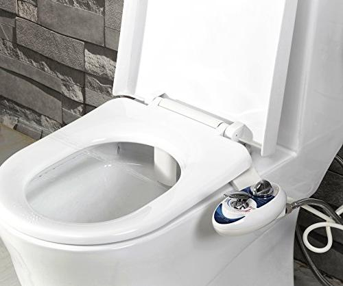 Luxe Bidet - Self Cleaning Dual Nozzle - Cold Water Non-Electric Bidet