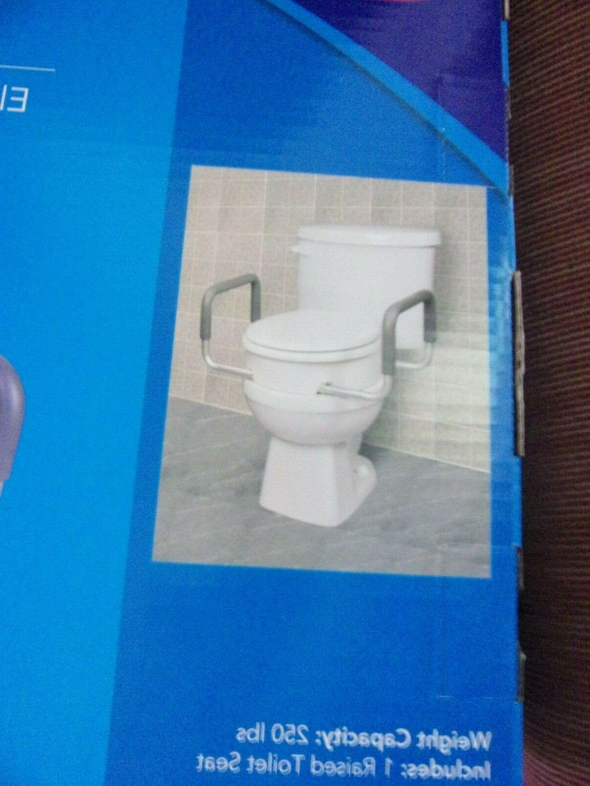 NEW with Handles for Round Toilets Handicap