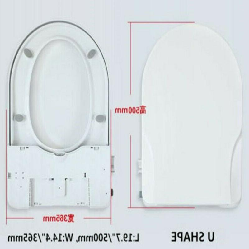 Non-Electric Bidet Dual Nozzle Water Self-Cleaning U/V/O