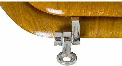 AquaSource Standard Metal Wood Round Seat