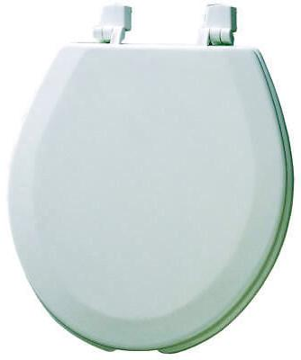 Mayfair Open Front Molded Wood Toilet Seat with Dial-On Hing