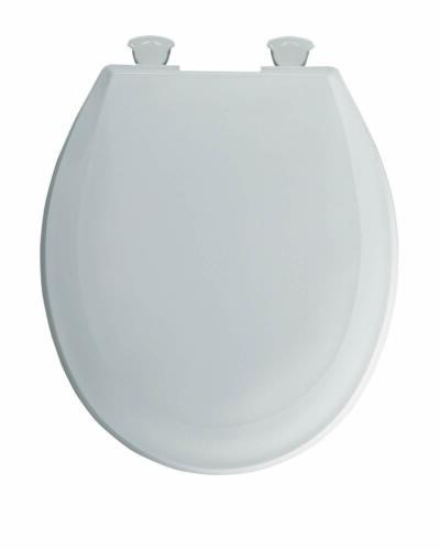Church Plastic Round Toilet Seat With Easy Cle