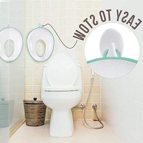 Potty Training Boys and Round & Oval Toilets, Non-Slip with Splash Includes - Jool