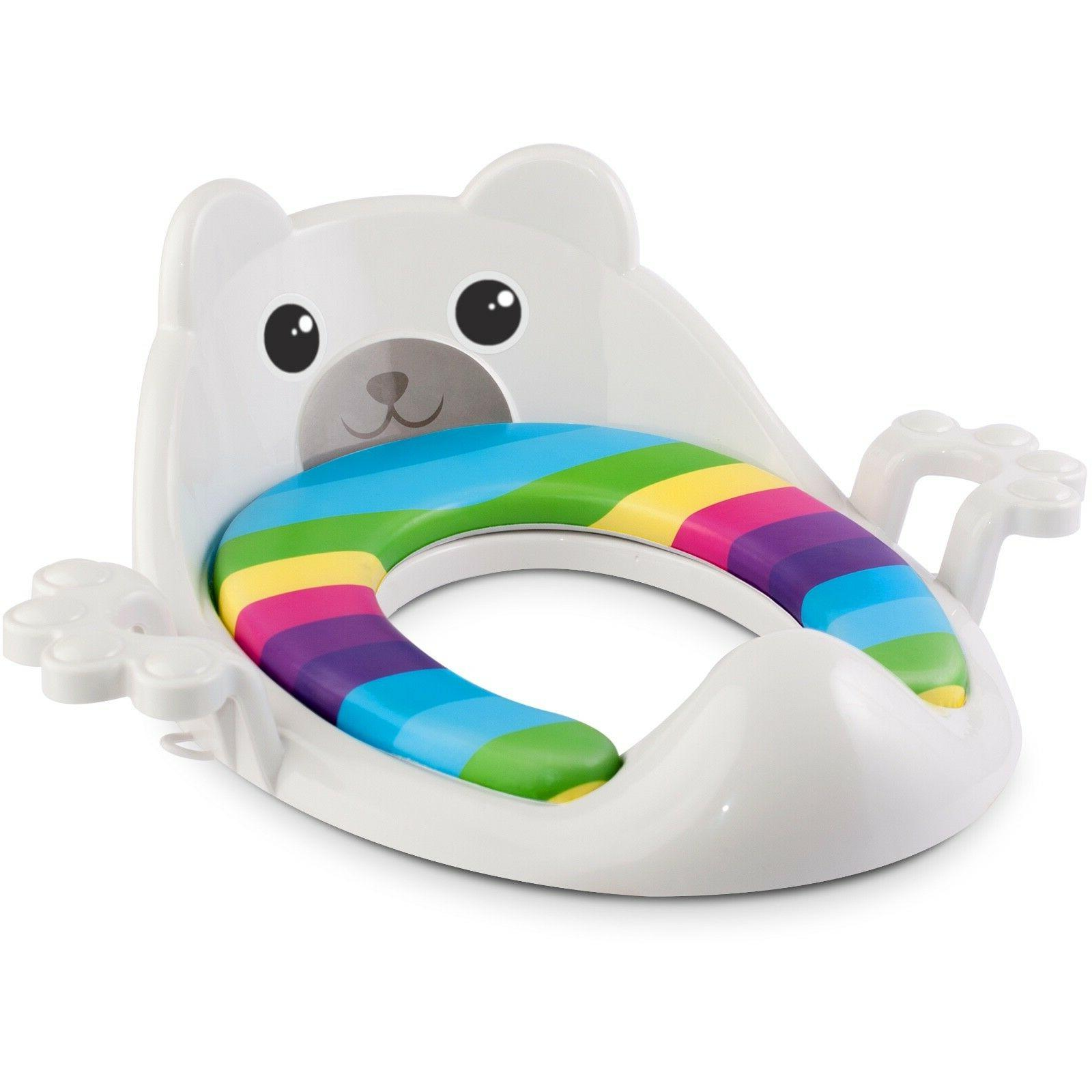 Potty Seat Toddlers Guard Round Oval Toilet