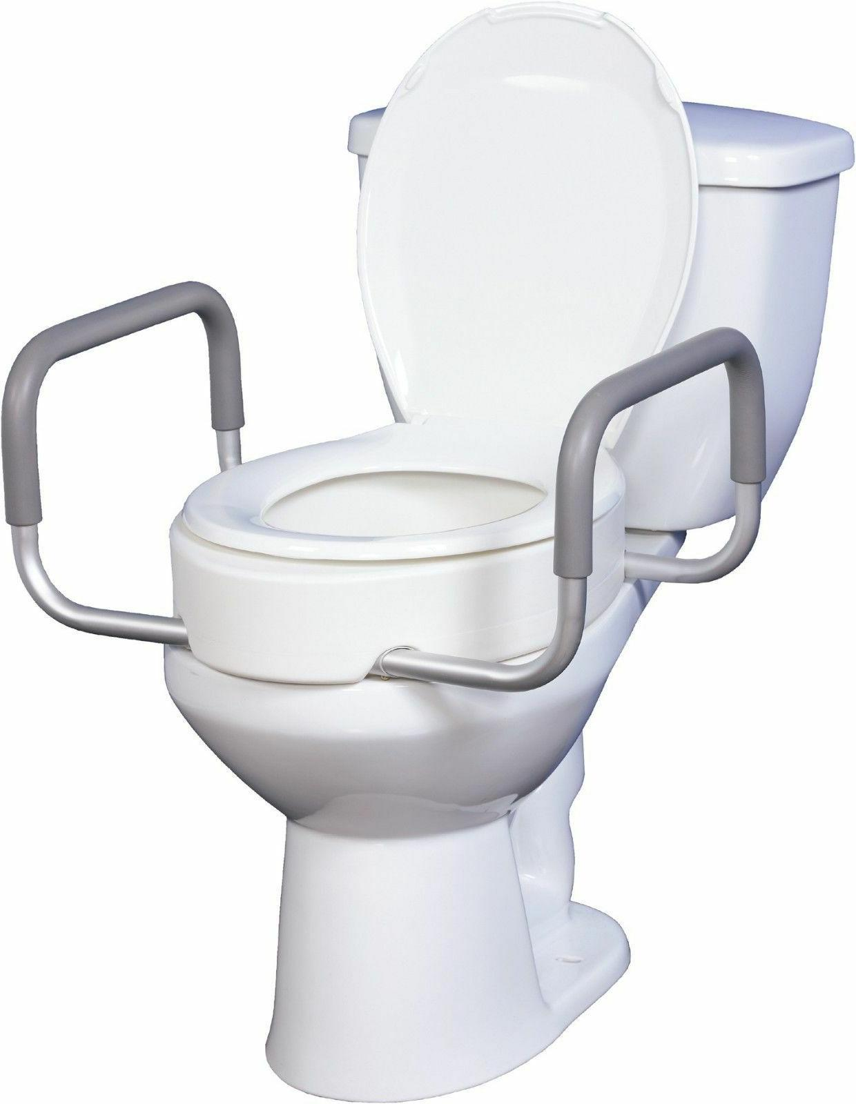 premium medical raised elevated toilet seat lift