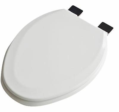 Premium Molded Wood Elongated Toilet Seat Oil Rubbed Bronze
