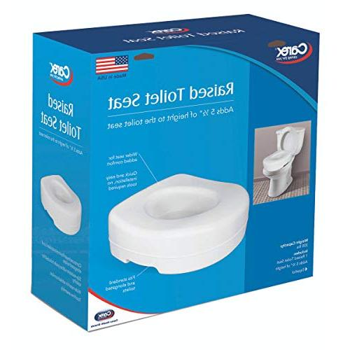 Carex - Adds of Height - Toilet With 300 Weight Capacity
