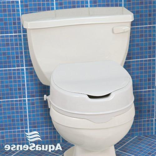 AquaSense Toilet with White,