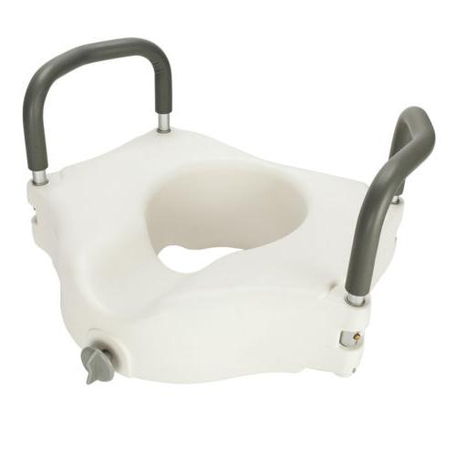 6in Riser Bath Safety Handicap Arms