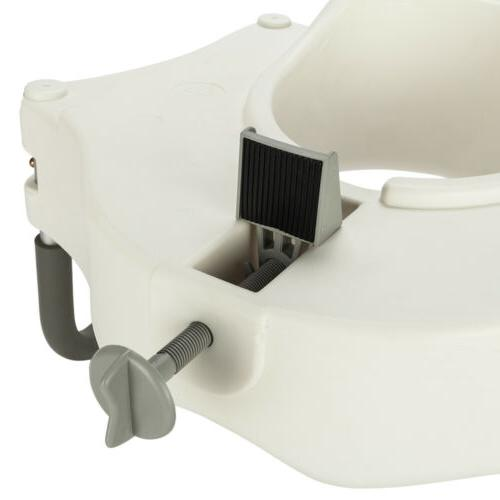 Raised Toilet 6in Height Bath Safety Handicap Arms