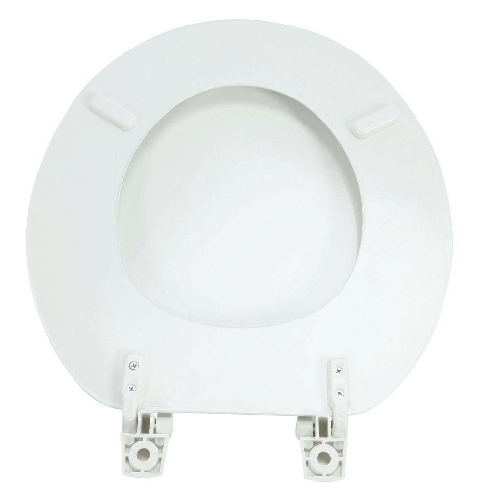 Front Round Replacement Seat Gloss White TOILET