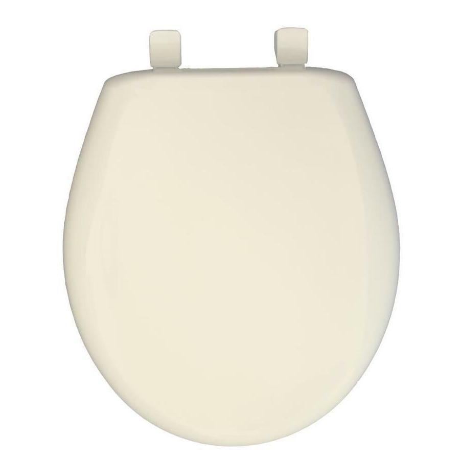round plastic whisper close toilet seat