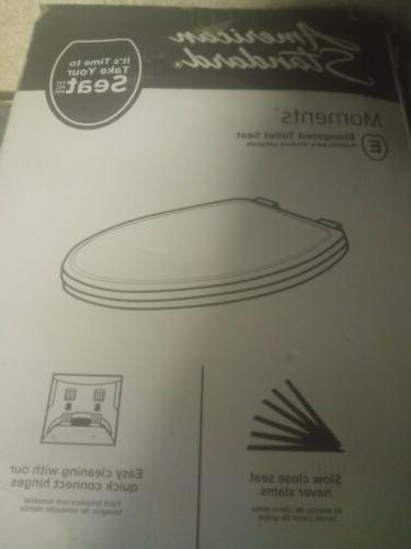 round slow close front toilet seat lid