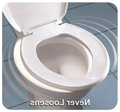 Mayfair 144BN-000 Toilet Seat, Hinges
