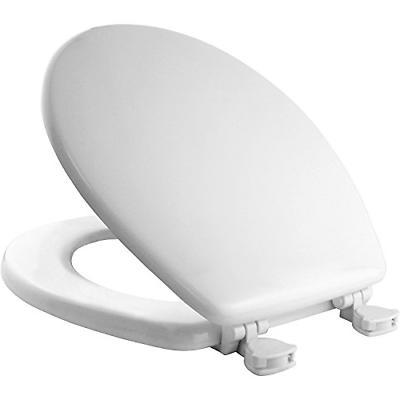 round toilet seat premium white