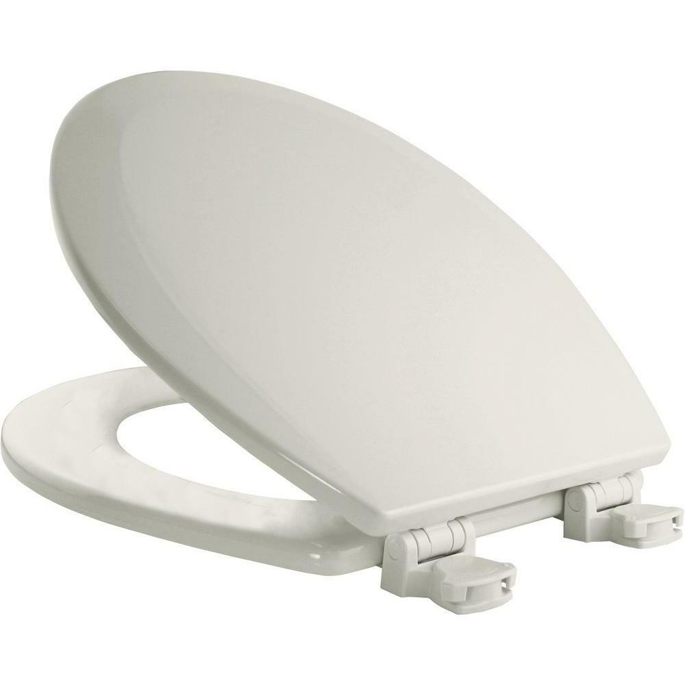 Round Toilet Seat Replacement Closed Front Lift Lid