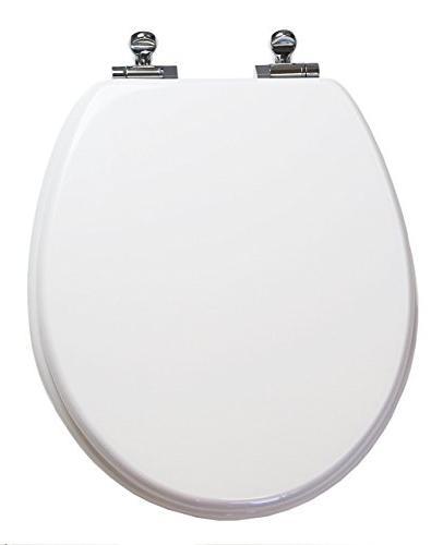 round toilet seat w slow