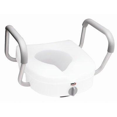 RTL12027RA Elevated Toilet Seat with Padded