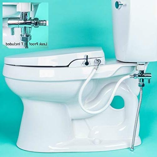 GenieBidet Self Cleaning Dual Nozzles. Rear & Feminine No wiring required. less. Hybrid ON/OFF Included!