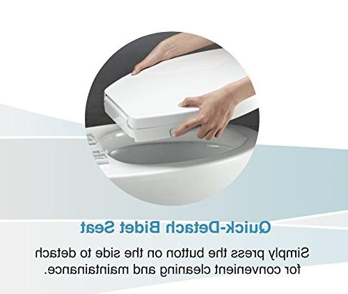 GenieBidet - Cleaning Nozzles. Rear & Feminine Cleaning No wiring required. Simple 20-45 minute or less. ON/OFF