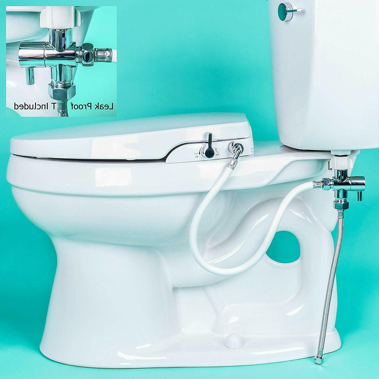 Enjoyable Rear Feminine Cleaning No Wiring Required Geniebidet Seat Pdpeps Interior Chair Design Pdpepsorg