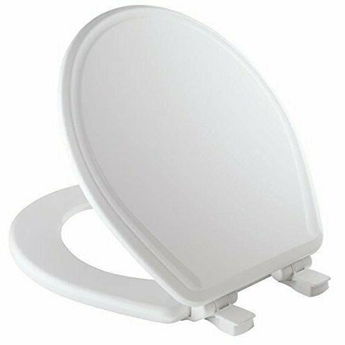 Mayfair 48SLOWA 000/848SLOWA 000 Molded Wood Toilet Seat fea