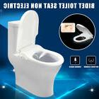 soft close slience toilet seat and non