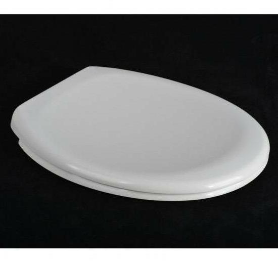 American Standard Porcher Soft Close Toilet Seat 445x376mm