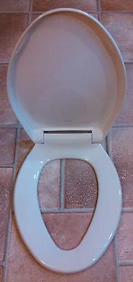 Church Solid Plastic Elongated Toilet Seat 380TC 376 AMER ST