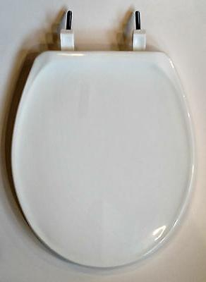 Beneke High Quality Solid Plastic Round Front Toilet Seat -