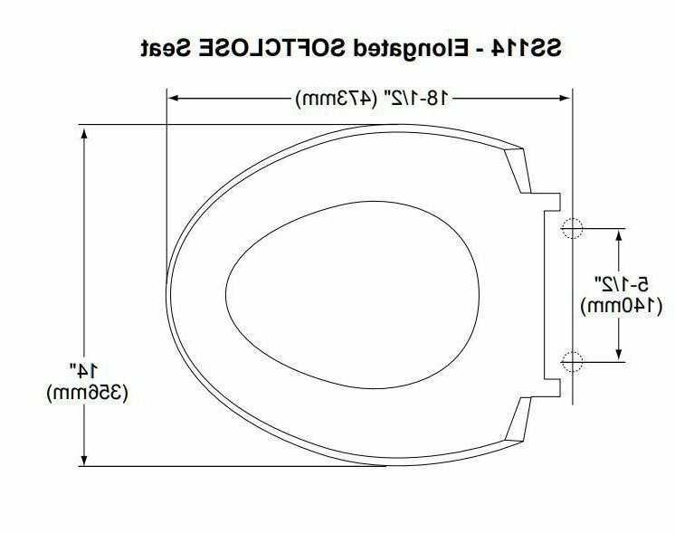 Toto SS114#01 SoftClose Toilet Seat and Lid