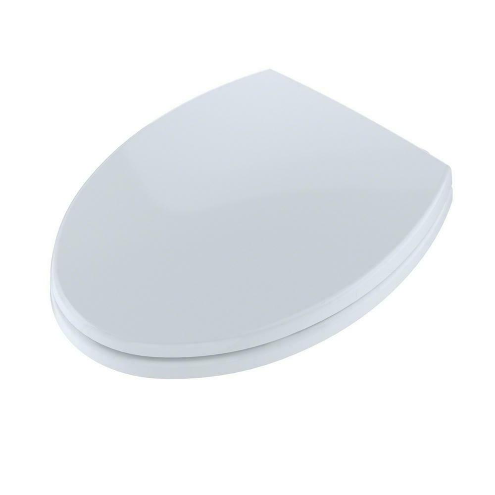 Toto SS114#01 SoftClose Elongated Closed-Front Toilet Seat Lid