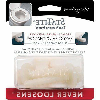 Mayfair STA-TITE Toilet Seat Fastening Hardware Upgrade Kit,